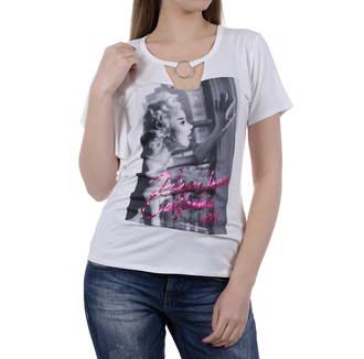 Ženska majica Guess JEANS CALIFORNIA KISSES TOP