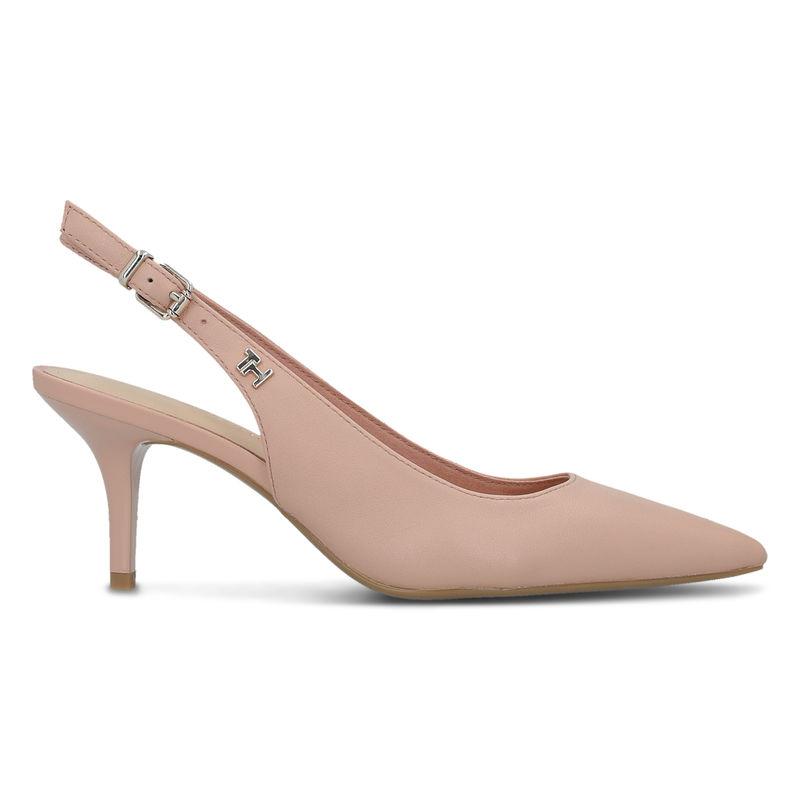 Ženske cipele Tommy Hilfiger FEMININE LEATHER MID SLING BACK