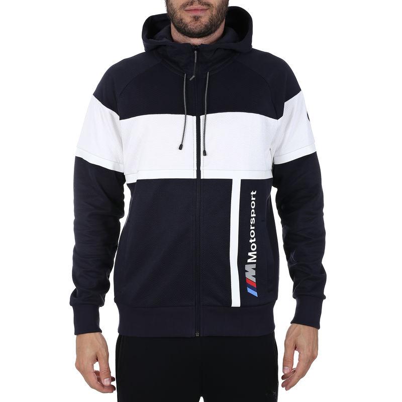 Muški duks Puma BMW MMS Hooded Sweat Jacket