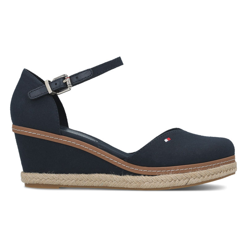 Ženske sandale Tommy Hilfiger BASIC CLOSED TOE MID WEDGE