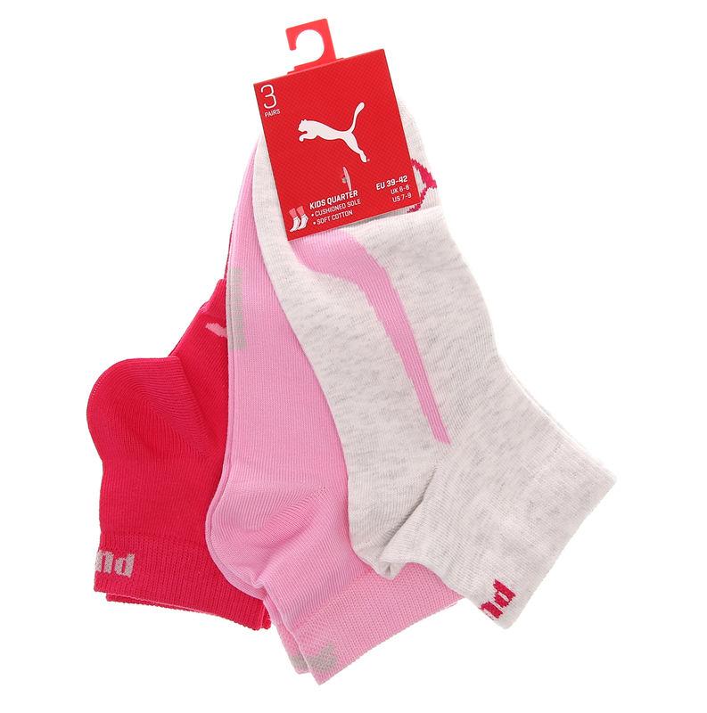 Dečije čarape Puma KIDS LIFESTYLE QUARTERS 3P