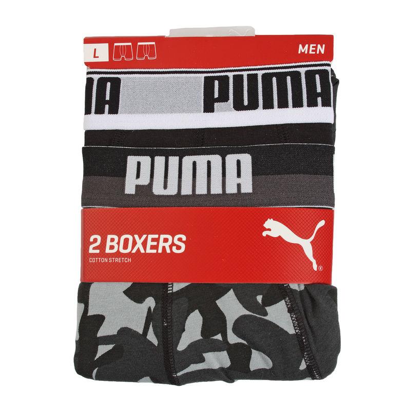 Veš Puma CAMO PRINT BOXER 2P