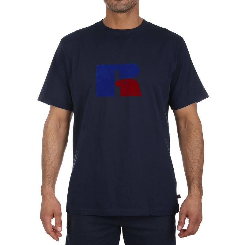 Muška majica Russell Athletic JERRY - FLOCK TEE SHIRT