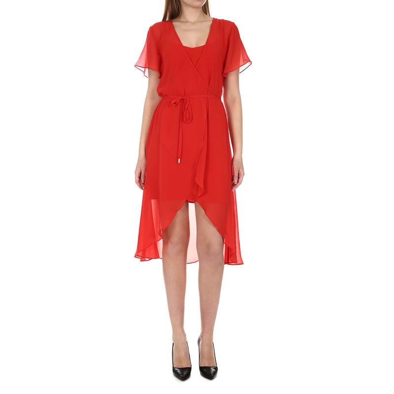 Ženska haljina Tommy Hilfiger TJW WRAP DRESS