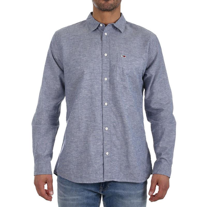 Muška košulja Tommy Hilfiger TJM LINEN SHIRT