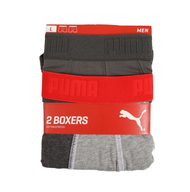 Veš Puma COLOR BLOCK BOXER 2P