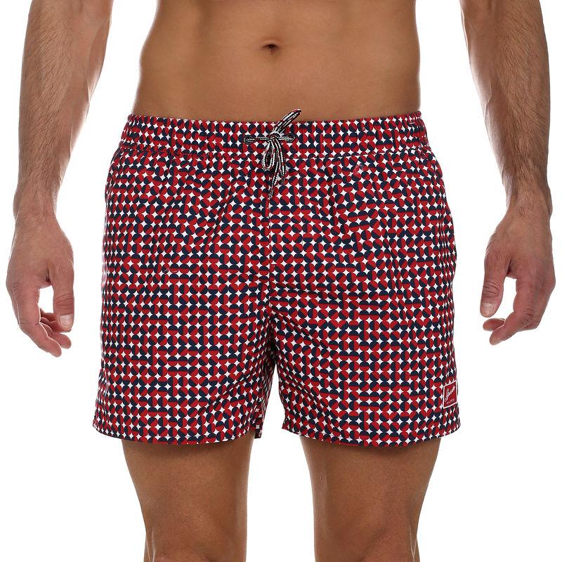 Muški kupaći Speedo VINTAGE PRT 14 WSHT AM RED/NAVY