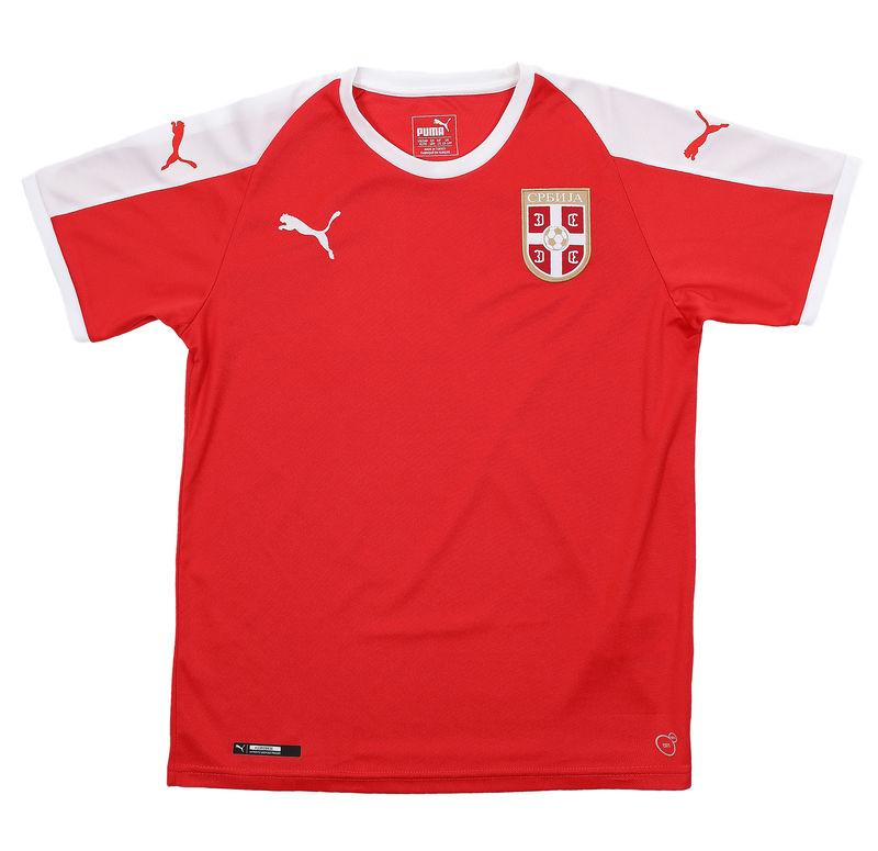 Dečiji dres PUMA Serbia Home Shirt SS Jr