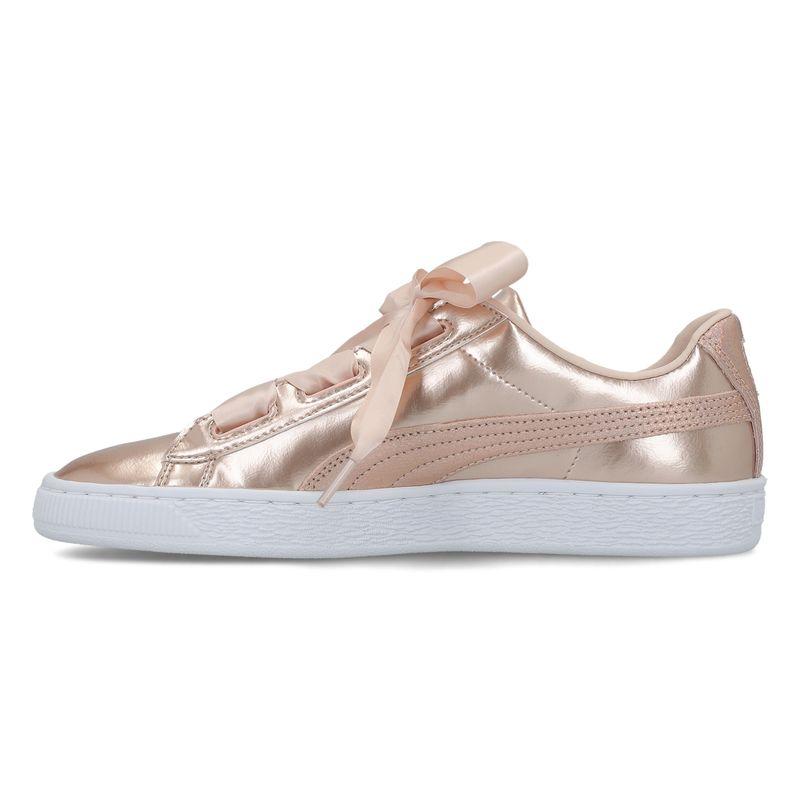 Sneakers PUMA Basket Heart Lunar Lux Jr 365993 02 Cream Tan