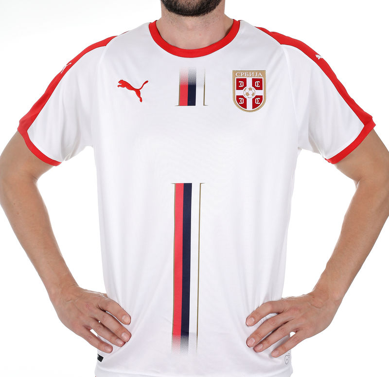 Muški dres Puma Serbia Away Shirt SS