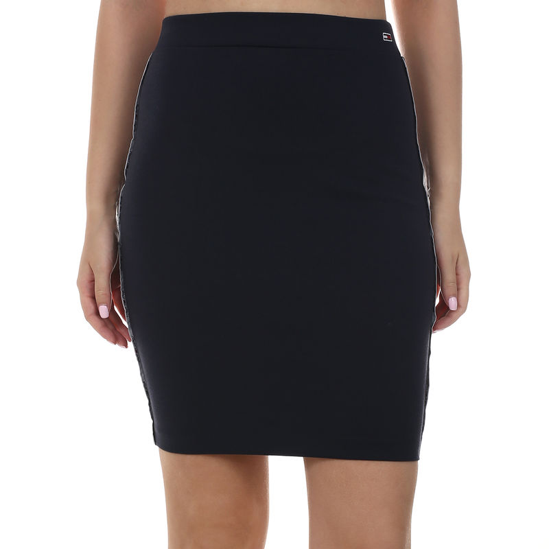 Ženska suknja Tommy Hilfiger PIPING BODYCON SKIRT
