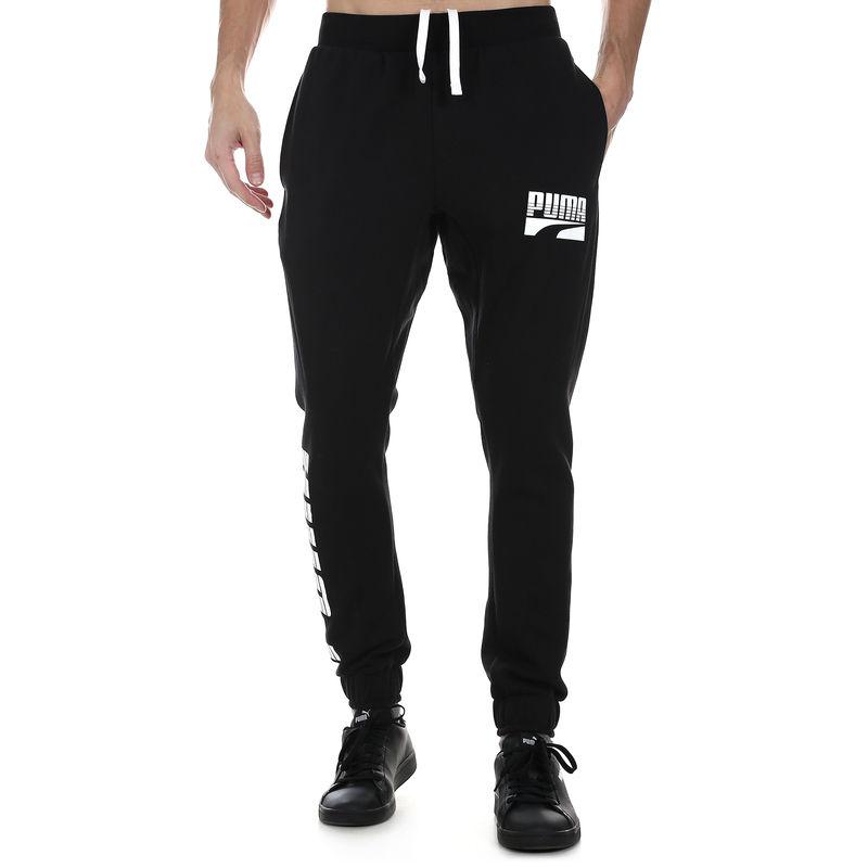 aae7c0ffcd Muška trenerka Puma Rebel Bold Pants cl FL
