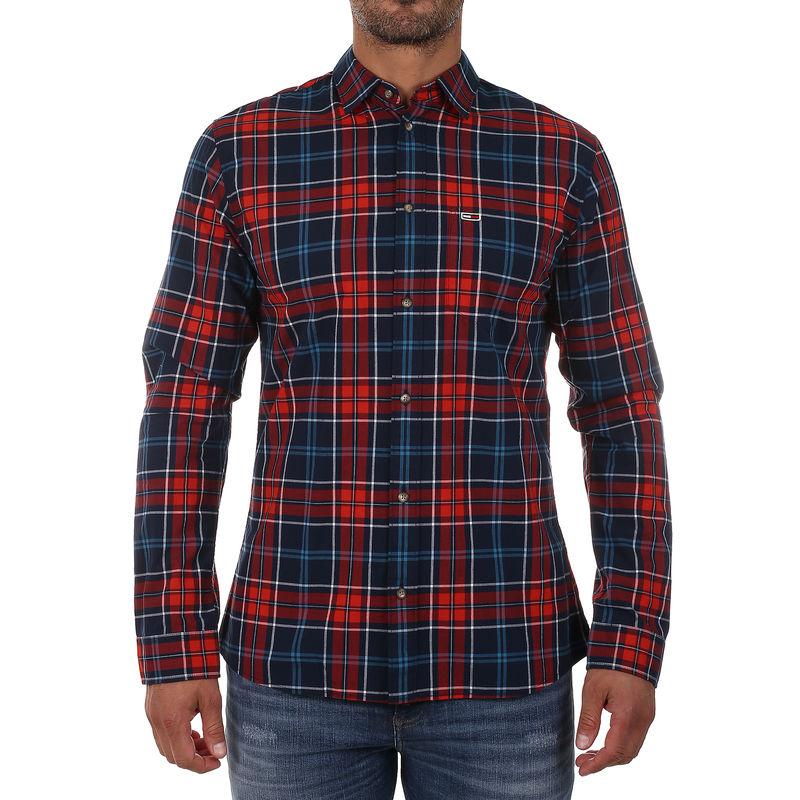 Muška košulja Tommy Hilfiger ESSENTIAL CHECK SHIRT