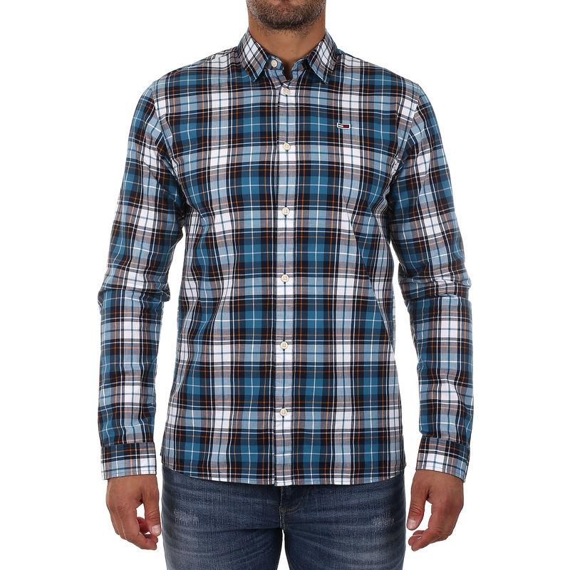 Muška košulja Tommy Hilfiger ESSENTIAL MULTI CHECK SHIRT