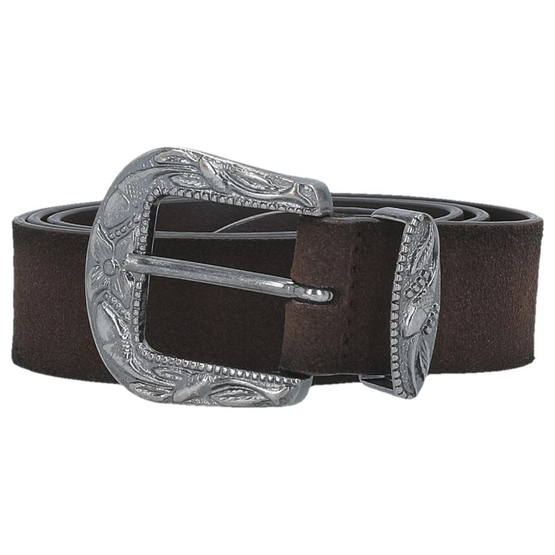 Ženski kaiš TRUSSARDI BELT SUEDE LEATHER
