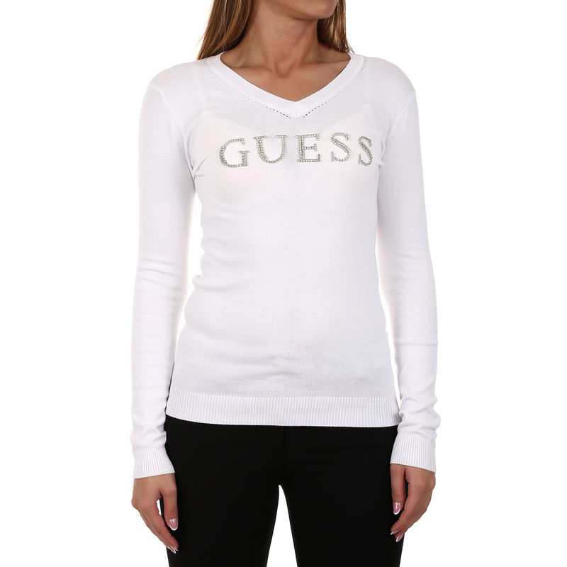 Ženski džemper Guess LS V-NECK EMILIA SWEATER