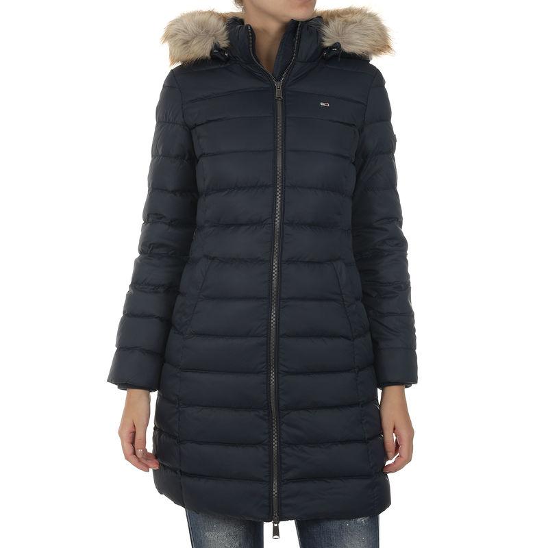 Ženska zimska jakna Tommy Hilfiger TJW ESSENTIAL HOODED DOWN