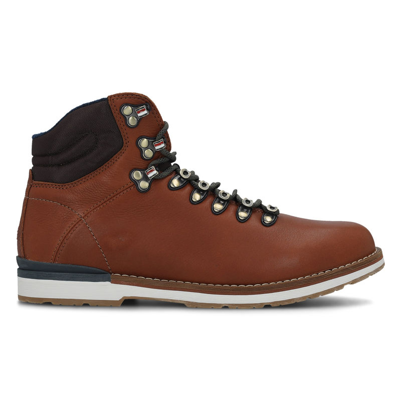 Muške cipele Tommy Hilfiger OUTDOOR HIKING LACE LEATHER BOOT