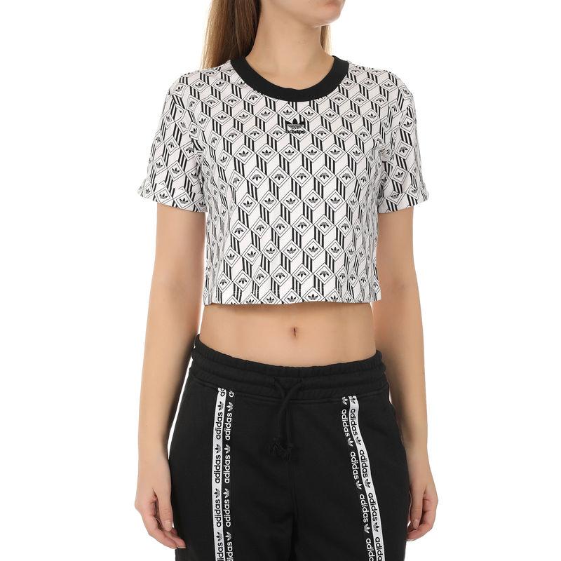 Ženska majica adidas CROPPED T-SHIRT