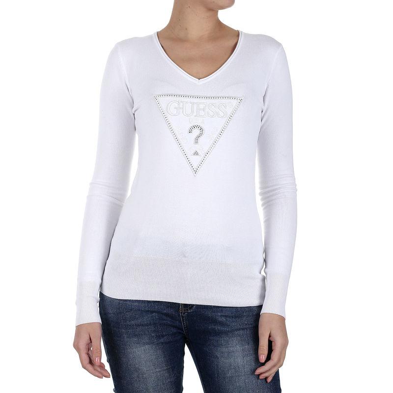 Ženski džemper Guess LS VN DELIA SWTR