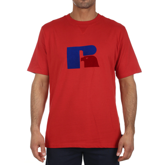 Muška majica Russell Athletic JERRY - FLOCK TEE SHIRT