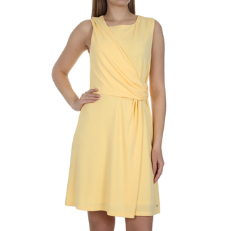 Ženska haljina Tommy Hilfiger BARBARA FLARE DRESS