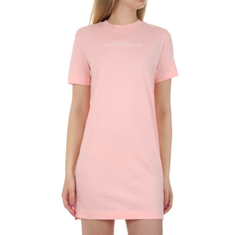 Ženska haljina Calvin Klein INSTITUTIONAL T-SHIRT DRESS