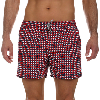 Muški kupaći Speedo VINTAGE PRT 14 WSHT AM RED/NAVY