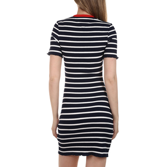 Ženska haljina Tommy Hilfiger BABYLOCK SHORTSLEEVE DRESS