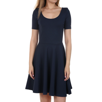 Ženska haljina Tommy Hilfiger ESSENTIAL FITFLARE DRESS