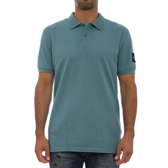 Muška majica Calvin Klein MONOGRAM BADGE POLO