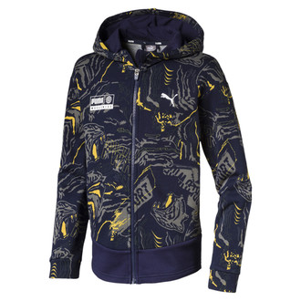 Dečiji duks Puma Alpha AOP Sweat Jacket