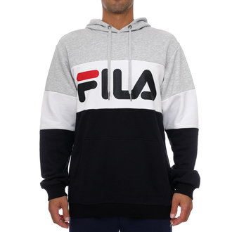 Muški duks Fila MEN NIGHT BLOCKED HOODY