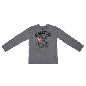 Dečiji duks Russell Athletic L/S CREWNECK TEE BASKETBALL PRINT