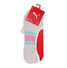 Čarape Puma WOMEN FOOTIES 2P STRIPE