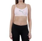 Ženska fitnes majica PUMA En Pointe Logo Bra - M