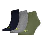Čarape Puma UNISEX QUARTER PLAIN 3P
