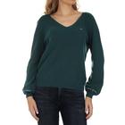 Ženski džemper Tommy Hilfiger TJW SLEEVE LOGO V-NECK SWEATER