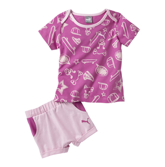 Dečiji set Puma STYLE MINICAT GRAPHIC SET