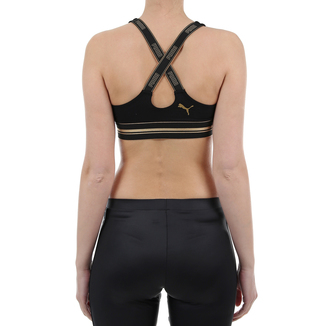 Ženski veš Puma GOLD LOGO CROSS BACK BRA 1P