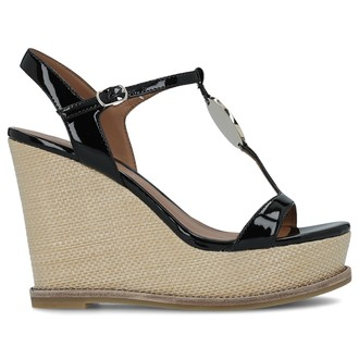 Ženske sandale ARMANI EXCHANGE EA LEATHER SANDAL