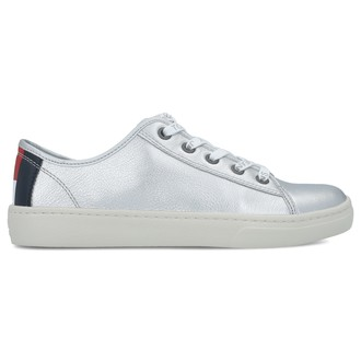 Ženske patike TOMMY HILFIGER TOMMY JEANS LIGHT LEATHER LOW