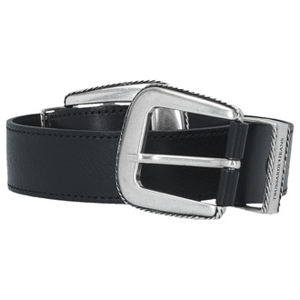 Ženski kaiš TRUSSARDI BELT LEATHER DOUBLE BUCKLE