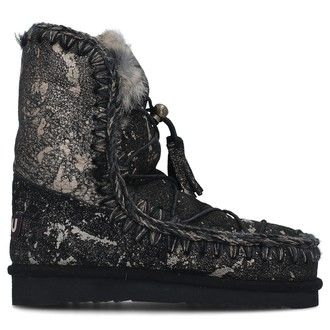 Ženske čizme MOU ESKIMO DREAM LACE UP FUR