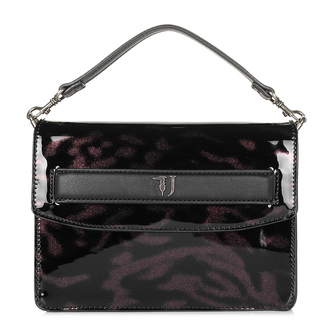 Ženska torba TRUSSARDI SHOULDER BAG PATENT ECOLEATHER